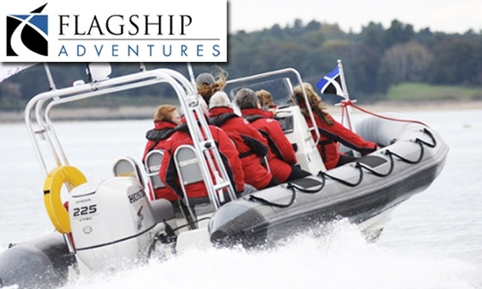 Flagship Adventures LLC - South Boston: 90-Minute High-Speed Boat Tour of the Boston Harbor Islands