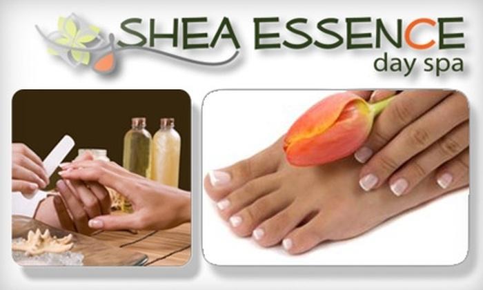 Shea Essence Day Spa - Sugar Creek Center: $30 for a Shea Spa Manicure and Pedicure at Shea Essence Day Spa in Sugar Land ($60 Value)