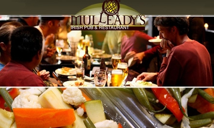 Mulleady's Irish Pub & Restaurant - Southeast Magnolia: $10 for $25 Worth of Traditional Irish Fare and Drinks at Mulleady's Irish Pub & Restaurant