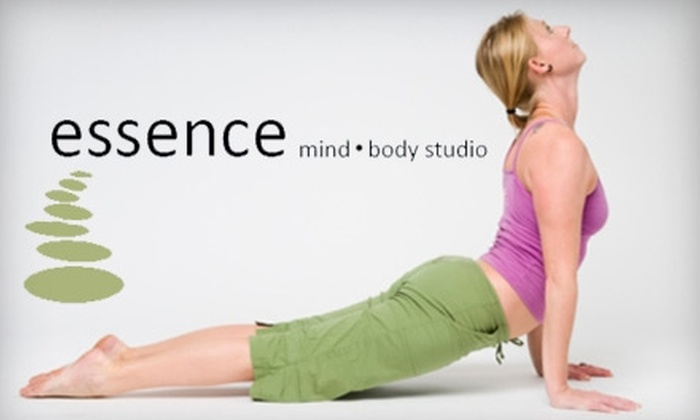 essence mind body • studio - Perrysburg: $60 for 10 Fitness Classes at Essence Mind Body Studio  ($120 Value)