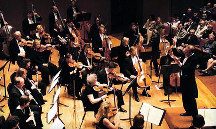 Chicago Philharmonic - Evanston: $37 for a Ticket to the Chicago Philharmonic's Season Opening at Pick-Staiger Hall in Evanston on October 2 (Up to $80 Value)