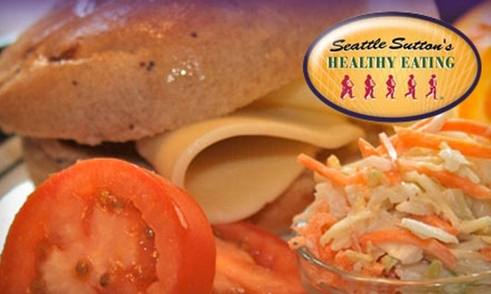 Seattle Sutton's Healthy Eating - Detroit: $34 for Three Days of Prepared Meals Or Seven Days of Dinners from Seattle Sutton's Healthy Eating (Up to $69 value)