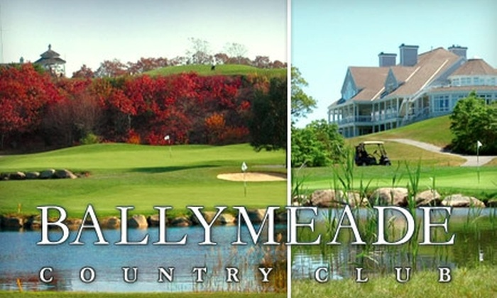 Ballymeade Country Club - Falmouth: $135 for a Weekday Golf Package for Four, Plus Two Golf-Cart Rentals and Four Buckets of Range Balls, at Ballymeade Country Club (Up to $292 Value)