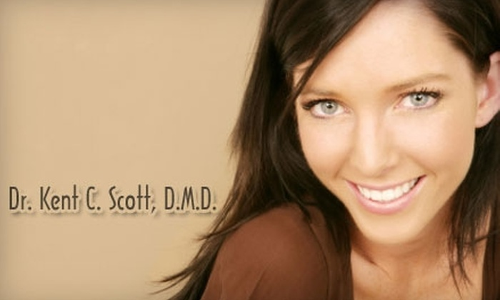 Dr Kent C. Scott - James Island: $145 for Teeth Whitening from the Office of Dr. Kent C. Scott ($600 Value)