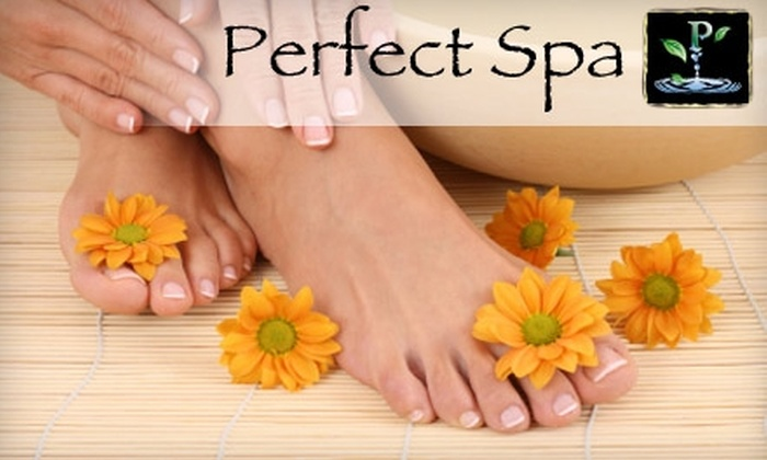 Perfect Nail - Upper East Side: $46 for a Spa Mani-Pedi at Perfect Nail ($95 Value)