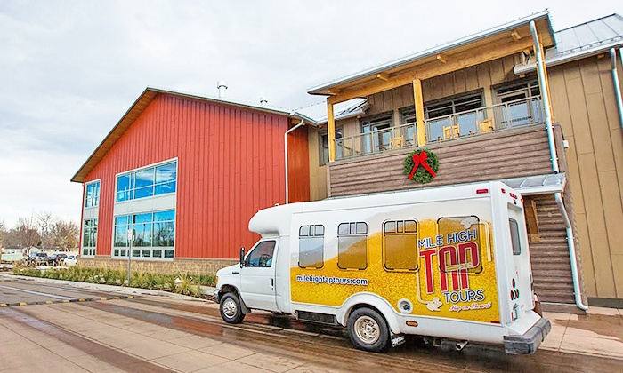 Mile High Tap Tours - The Brew on Broadway: 6- or 12-Person Brewery Bus Tour from Mile High Tap Tours (Up to 41% Off)