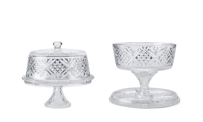 IDEELI, INC.: GODINGER Dublin 4-in-1 Cake Plate from $24.99 | Brought to You by ideel