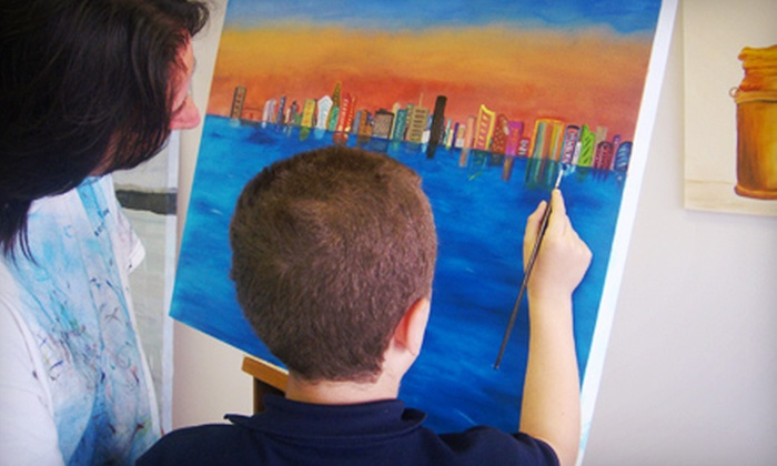 Claudia Groll - Ojus: One Two-Hour Painting Class from Claudia Groll ($40 Value)