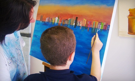 One Two-Hour Painting Class from Claudia Groll ($40 Value)
