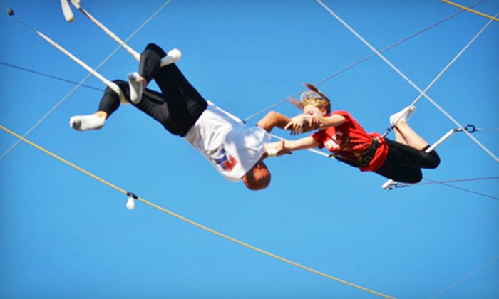 Trapeze Las Vegas - Las Vegas Strip: Trapeze Class for One or Two at Trapeze Las Vegas (Up to 55% Off)