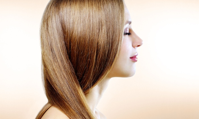 Abby Warthman at A Day Away Salon & Spa - A Day Away Salon: Haircut with Options for Full or Partial Highlights or Single-Process Color at A Day Away Salon & Spa (Up to 55% Off)