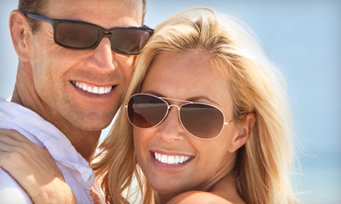 WhiteShade - Braemar Park - Bel Air Heights - Copeland Park: One or Two Power Teeth-Whitening Treatments from WhiteShade in Nepean (Up to 72% Off)