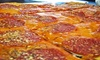 Pirrone's Pizzeria - Multiple Locations: Pizza and Italian Food at Pirrone's Pizzeria (Up to 45% Off). Two Options Available.