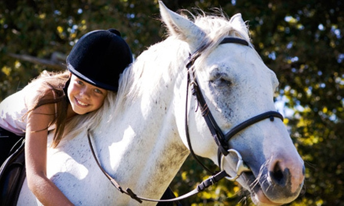 Ocean View Farms - Multiple Locations: One- or Two-Hour Trail Ride for Two or Mother-Daughter Riding Package at Ocean View Farms in Moss Beach (Up to 77% Off)