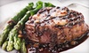 Izzy's Steaks & Chops - San Carlos - San Carlos: Steak-House Meal for Two, Four, or Six at Izzy's Steaks & Chops - San Carlos (Up to 52% Off)