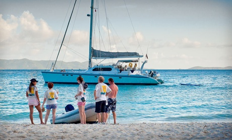 Caribbean Luxury Catamaran Cruise in British Virgin Islands