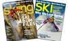 1-Year Subscription to Ski or Skiing Magazines: 1-Year Subscription to Ski or Skiing Magazines from $5–$10
