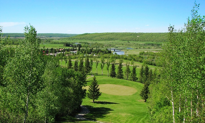 Holiday Mountain Resort - Holiday Mountain Resort: 1-Night Stay for Two with Four Rounds of Golf at Holiday Mountain Resort in La Rivière, MB. Combine Up to 4 Nights.