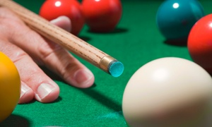 VIP Billiards: Two Hours of Billiards with Drinks for Two or Four at VIP Billiards (Up to 55% Off)