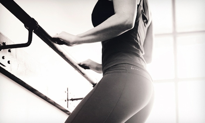 B Barre Fitness - East Louisville: 5 or 10 BarreAmped Classes at B Barre Fitness (Up to 67% Off)