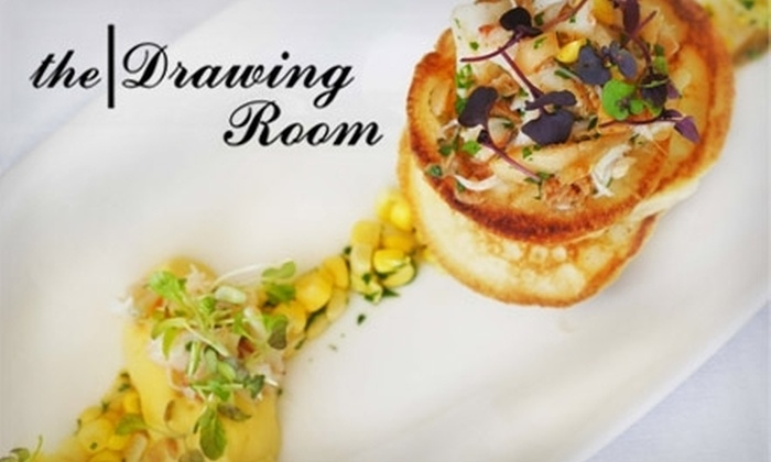 The Drawing Room - Near North Side: $25 for $50 Worth of Drinks and Cuisine at the Drawing Room