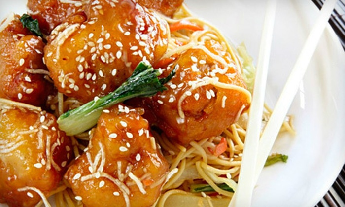 YiPing Restaurant - Crow Canyon: $15 for $30 Worth of Organic Chinese Dinner Fare at YiPing Restaurant in San Ramon