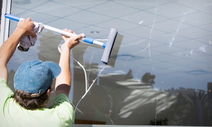 All Star Cleaning - Orange County: Cleaning of 15 or 25 Window Exteriors, Tracks, and Screens from All Star Cleaning (Up to 69% Off)
