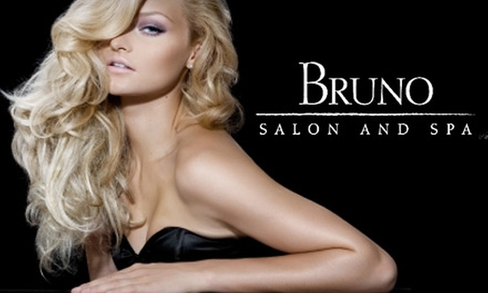 Bruno Salon and Spa - Bay Ridge & Fort Hamilton: $60 for Partial Highlights and Blow-Dry ($183 Value) or $42 for a Facial ($85 Value) at Bruno Salon and Spa. Also Includes Complimentary Wine or Cappuccino.
