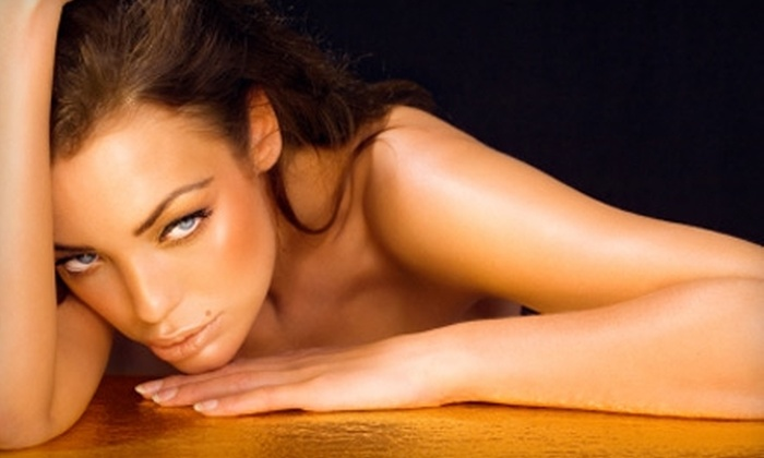 Airbrush by April - Downtown Springfield: $19 for One Custom Airbrush Tan at Airbrush by April at Moda Salon ($45 Value)