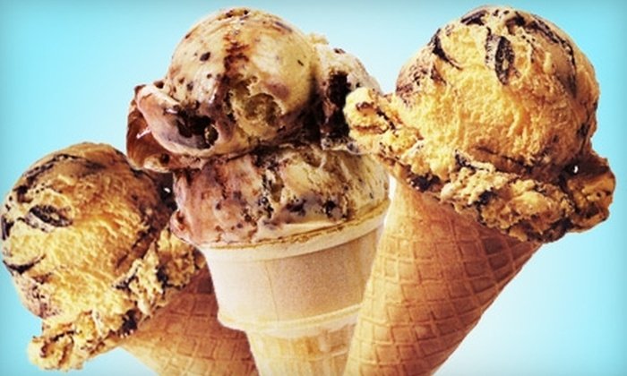 Buck's Ice Cream Place - Columbia, MO: $5 for Two Half Gallons of Ice Cream at Buck's Ice Cream Place (Up to $12.50 Value)