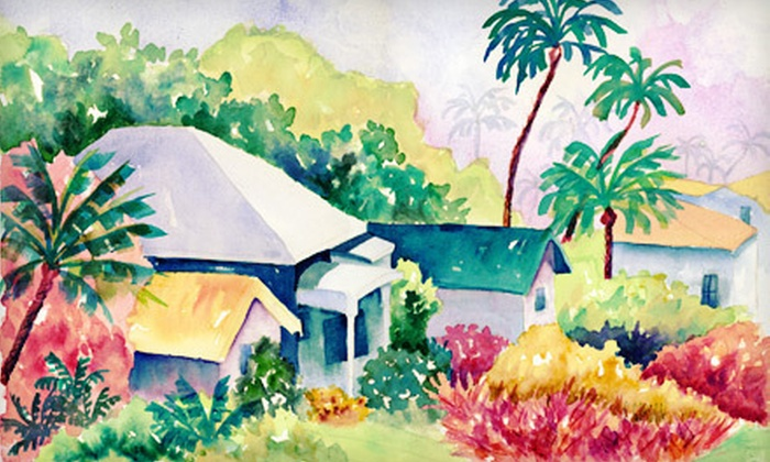 Carolyn Gordon Watercolor Studio & Framing - Port Salerno: Breakfast Watercolor Class for One or Two at Carolyn Gordon Watercolor Studio & Framing in Port Salerno (Up to 54% Off)