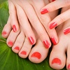 52% Off Organic Manicure and Pedicure
