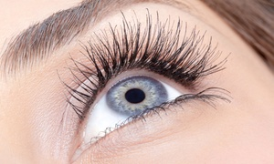 Lashology: Full Set of Eyelash Extensions at LASHOLOGY BEAUTY LOUNGE (25% Off)