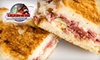 Cogan's Pizza - Multiple Locations: Pizza, Pasta, Sandwiches, and More at Cogan's Pizza. Choose From Three Dining Options.