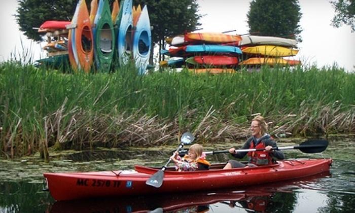 Lakeshore Kayak Rental - Grand Haven: Kayak Rentals at Lakeshore Kayak Rental in Grand Haven.  Two Options Available
