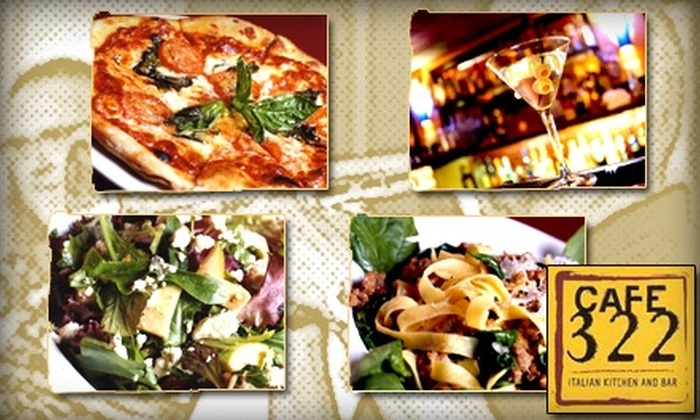 Cafe 322 - Sierra Madre: $15 for $30 Worth of Italian Cuisine and Drinks at Cafe 322