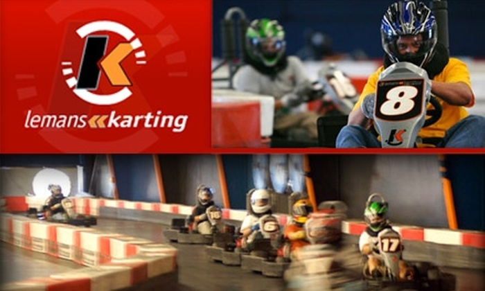 LeMans Karting - East Industrial: $35 for $75 Worth of Go-Karting Thrills at LeMans Karting