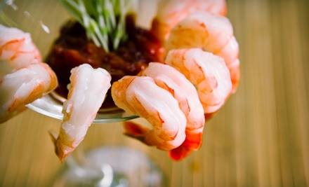 $20 Groupon to Seguin Seafood and Steak House - Seguin Seafood and Steak House in Seguin