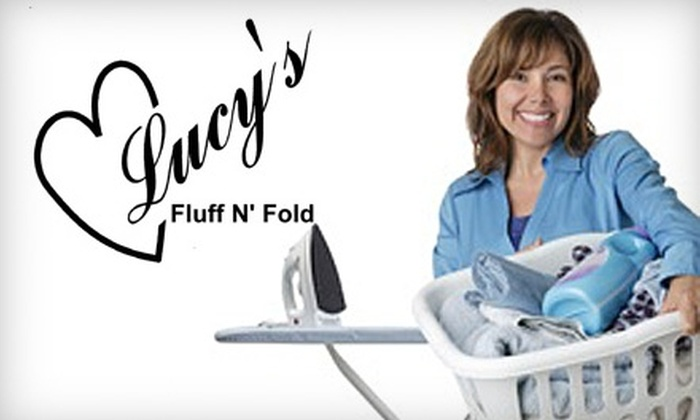 Lucy's Fluff N' Fold - Yorktown: $25 for $50 Worth of Laundry Services from Lucy's Fluff N' Fold in Huntington Beach
