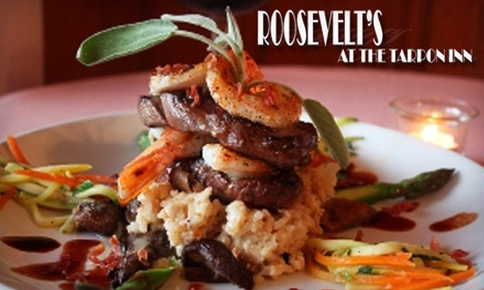 Roosevelt's at the Tarpon Inn - Port Aransas: $25 for $50 Worth of American Cuisine at Roosevelt's at the Tarpon Inn