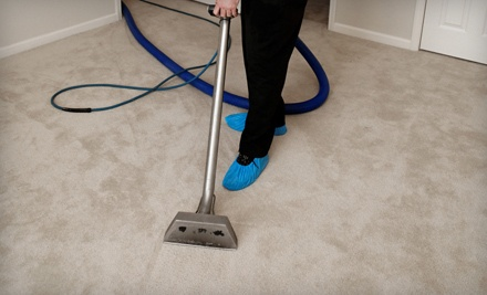Steam Cleaning of Carpeting for 2 Rooms or Upholstery Cleaning of 1 Sofa  (a $79 value) - Quick-Kleen Home Services in