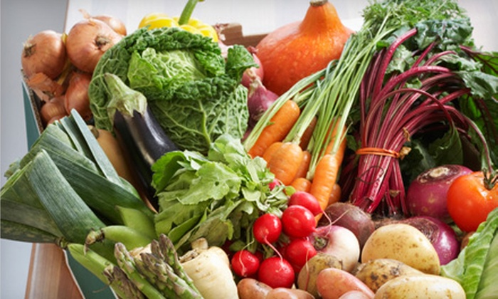 Farm Fresh To You - Multiple Locations: $15 for $31.50 Worth of Organic Produce Delivered from Farm Fresh To You