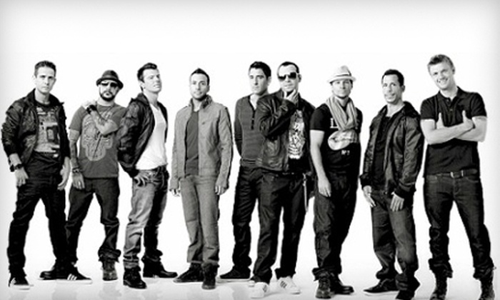New Kids on the Block and Backstreet Boys - Downtown: $42 for One Ticket to See New Kids on the Block and Backstreet Boys at 1st Mariner Arena on Sunday, May 29, at 7:30 p.m. ($84.95 Value)