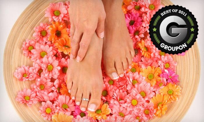 Dakota M Salon and Spa - Northeast Virginia Beach: Spa Mani-Pedi Package at Dakota M Salon & Spa in Virginia Beach (56% Off)