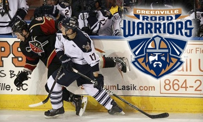 Greenville Road Warriors Hockey - Downtown: One Ticket to a Greenville Road Warriors Hockey Game. Choose between Two Dates.