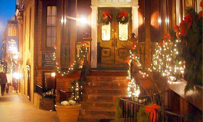 Annapolis Ghost Tours - Annapolis: Ghosts of Christmas Past Walking Tour or Santa Claus Pub Crawl for Two or Four from Annapolis Ghost Tours (Up to 60% Off)