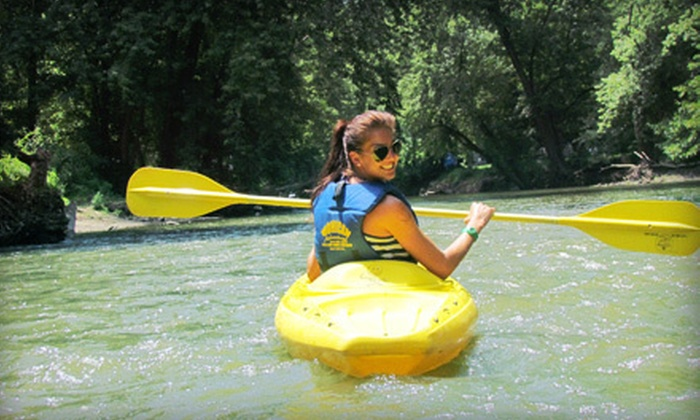Wally World Riverside Resort - Knox: $49 for Two Nights of Camping and Canoe Rental for Two at Wally World Riverside Resort in Loudonville (Up to $126 Value)