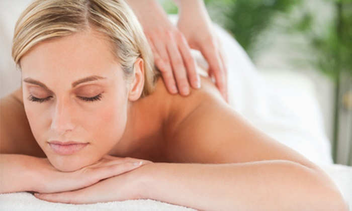 Hair Graphics - Lee's Summit: $40 for a Body Scrub with 60-Minute Massage at Hair Graphics in Lee's Summit ($80 Value)