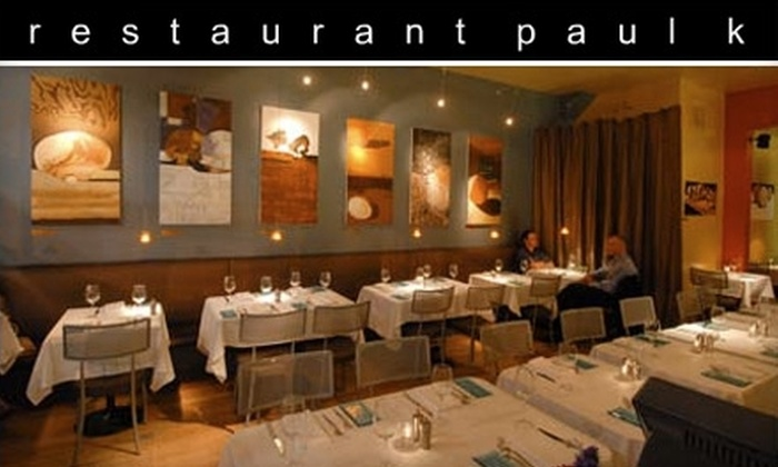 Restaurant Paul K - Hayes Valley: $20 for $40 Worth of Mediterranean Cuisine and Drinks at Restaurant Paul K