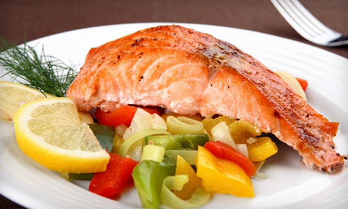 Ketch Joanne Restaurant and Harbor Bar - Willow Brook Estates: $15 for $30 Worth of Fresh Seafood, Sandwiches and Savory Breakfast at Ketch Joanne Restaurant and Harbor Bar in Princeton-by-the-Sea